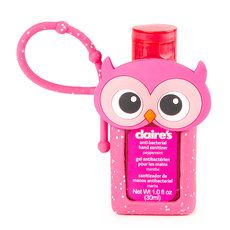 Owl Holder With Peppermint Anti Bacterial Hand Sanitizer Hand