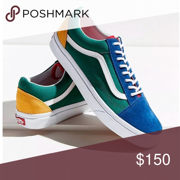 af668fc35e Vans Yacht Club Old Skool Multi color. Sold Out everywhere! Men s 9 Women s  10.5 Vans Shoes Sneakers