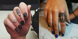 finger tattoos - Buscar con Google