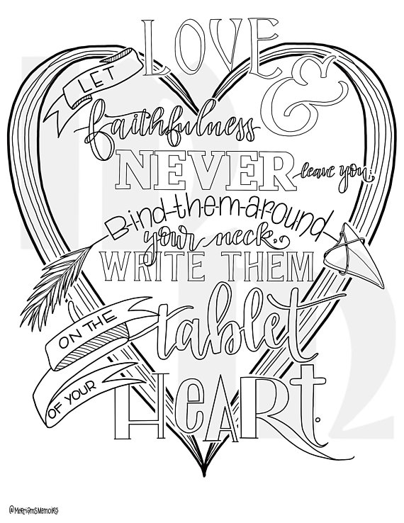 Coloring page, bible study coloring page | Adult coloring ...