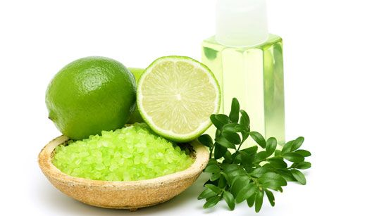 Limão ajuda a tirar manchas - Limão e sal de banho