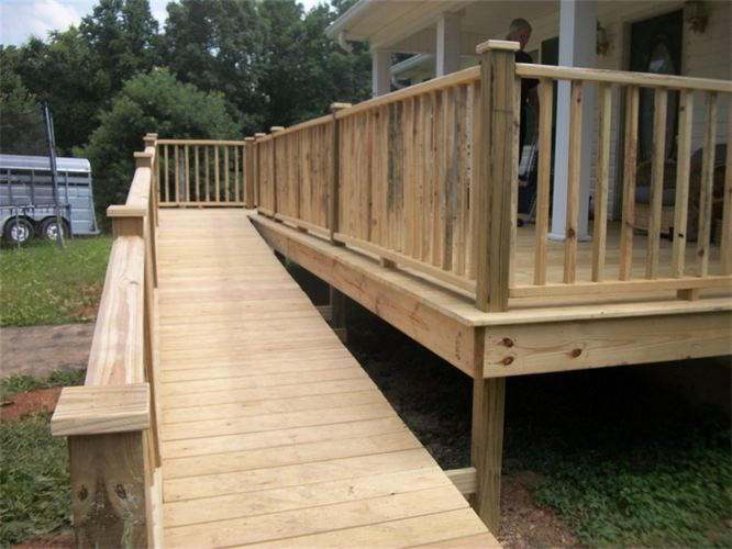 how to build a handicap ramp