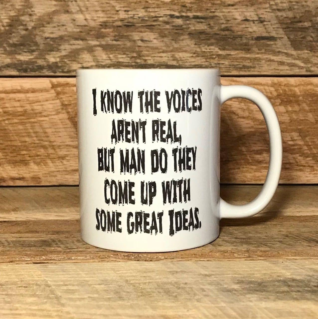 Coffee mug, funny gift funny coffee mug, clever coffee mug