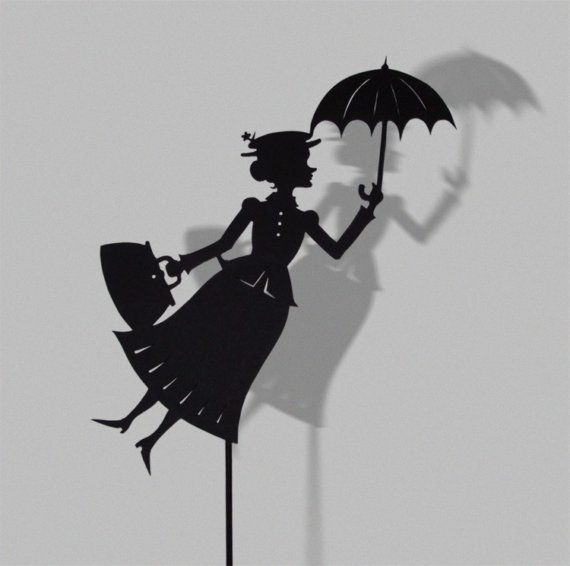 Marry Poppins, to put on a bag.