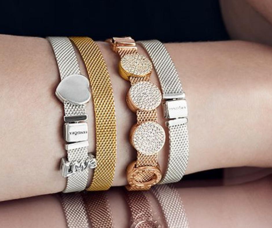 charm pandora bracelet reflexion