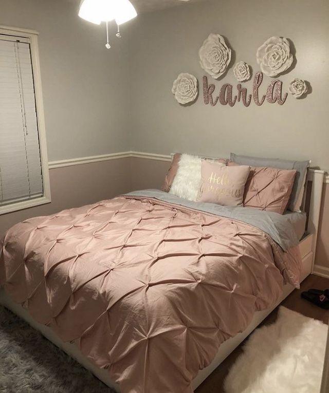 Pink Girly Bedroom Accessories: Kori's Bedroom Ideas In 2019