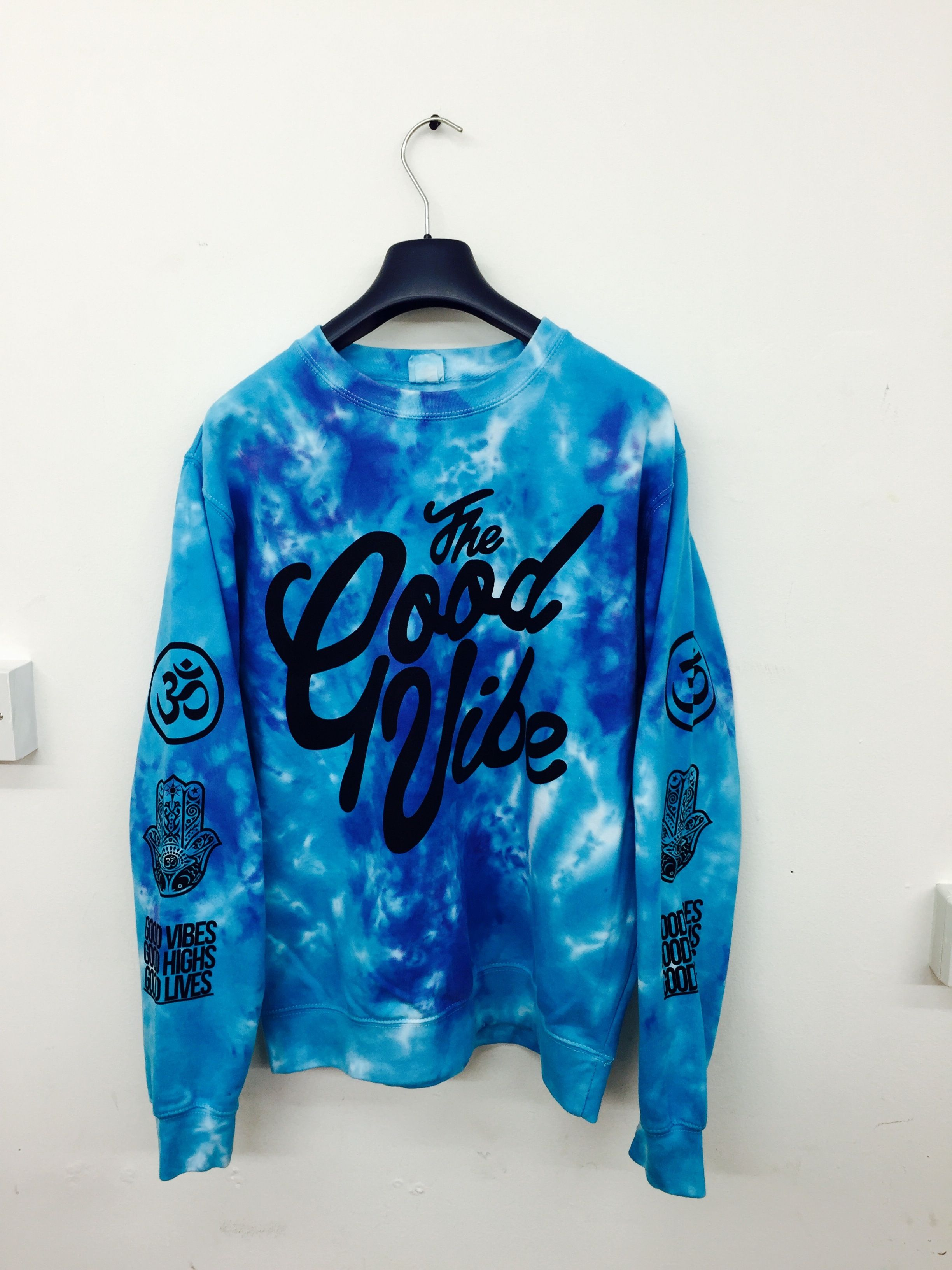 Good Vibes Tie Dye Jumper Clothes Fashion Fashion Outfits [ 3264 x 2448 Pixel ]