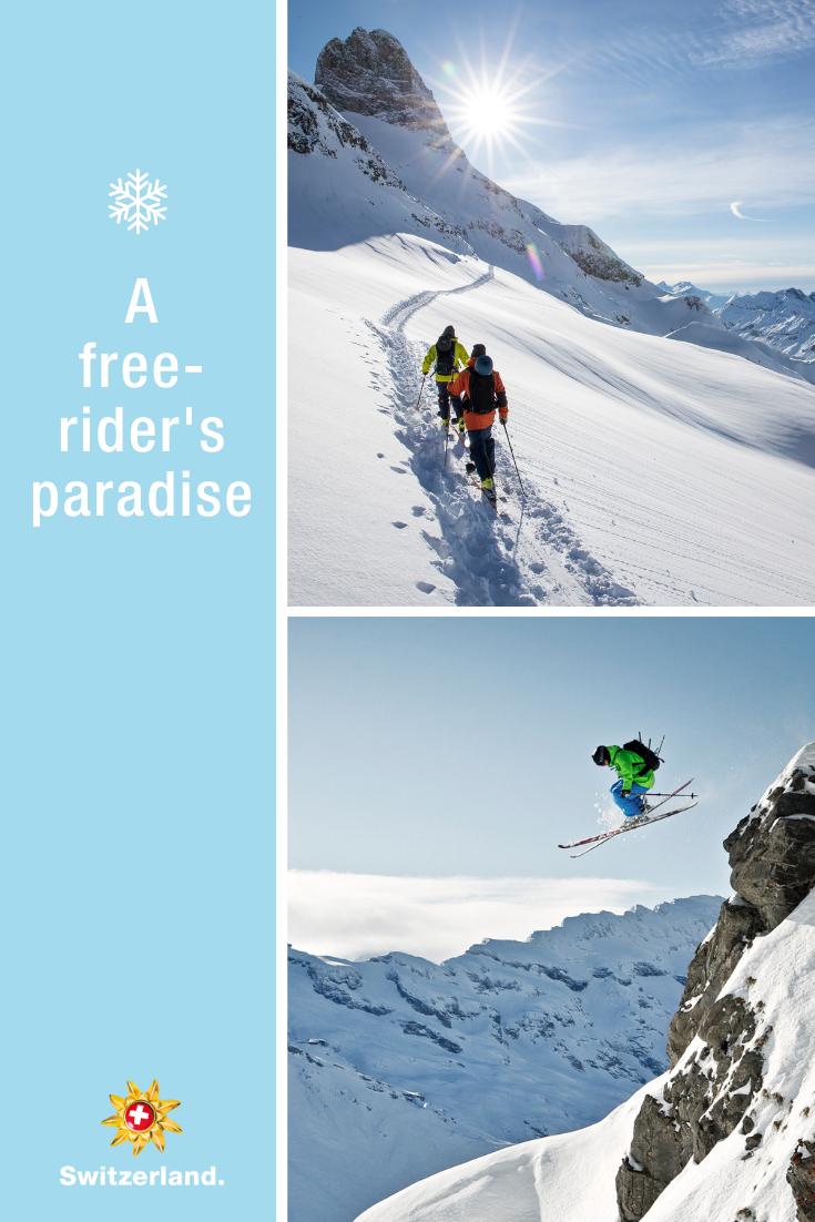 Powder Snow Experiences In Switzerland Switzerland Tourism Winter Vacations Destinations Tourism