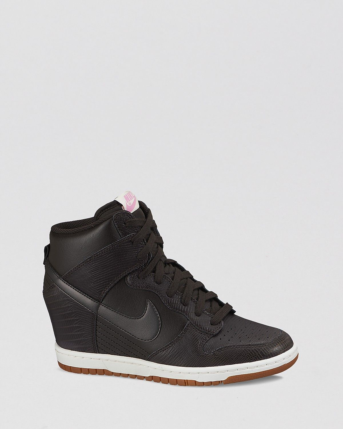 nike womens high top wedges
