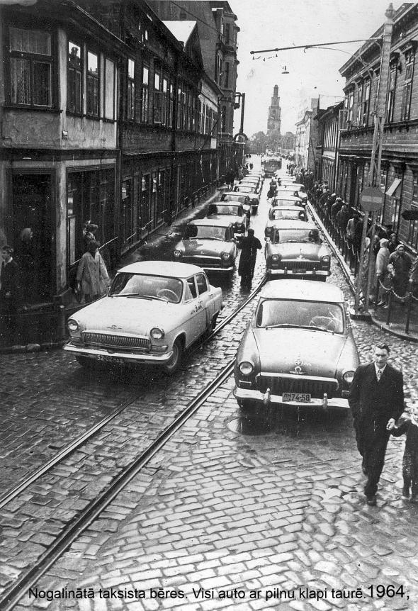 19601970 Liepājas tramvajs 1964. g. Nogalinātā taksista