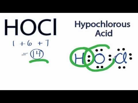 Hocl Electron Dot Diagram Auto Wiring Diagram Today
