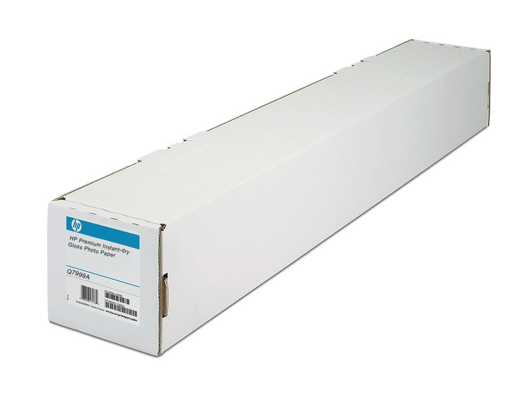 Q7999A HP Premium Instant Dry Glossy Photo Paper, 60 in