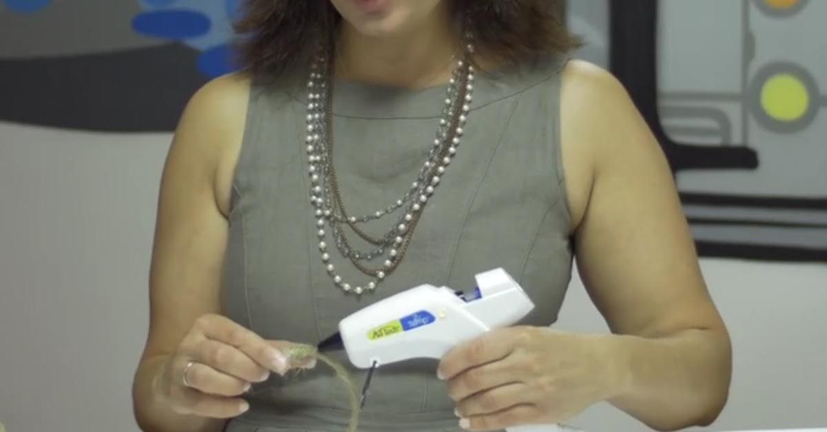 Make Your Life Easier At Home With These Simple Glue Gun Hacks via LittleThings.com