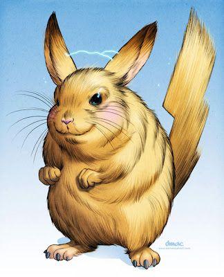 404 Not Found Pikachu Chinchilla Cute Animals