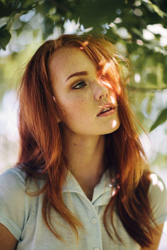 Beautiful Redhead, Red Hair