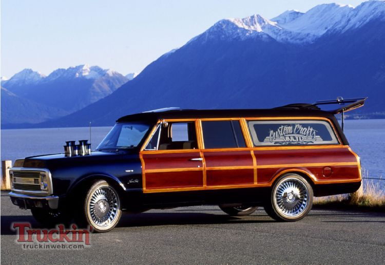 1970 Chevy Suburban Custom Woody If Only I Kept My First Car And