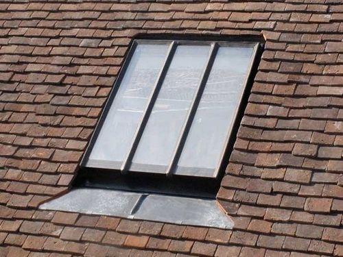 fen tre de toit projection 100 encastr tuiles cast pmr. Black Bedroom Furniture Sets. Home Design Ideas