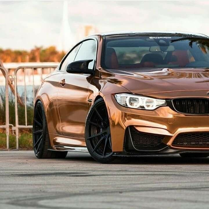 Bmw F82 M4 Rose Gold