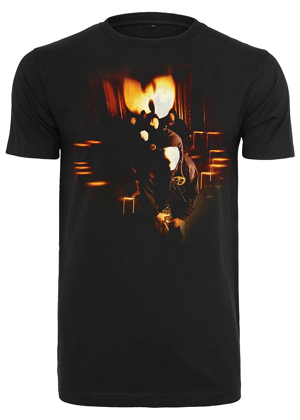 Wu Wear Tb Herren T Shirt Masks Print Schwarz Farbe Schwarz Größe Xs Wu Wear Herren T Shirt Shirts