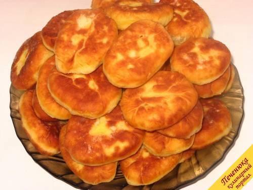 Пирожки с картошкой (пошаговый рецепт с фото) — Кулинарный ...