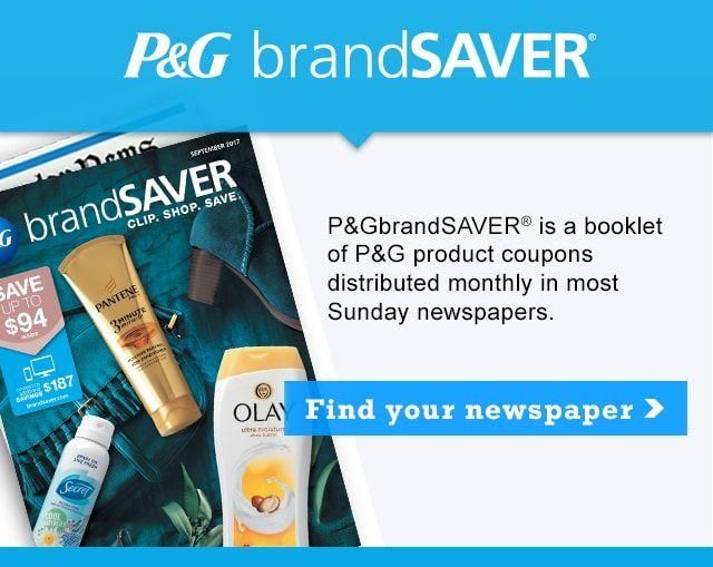 P G Brandsaver Online Coupons Coupons Printable Coupons