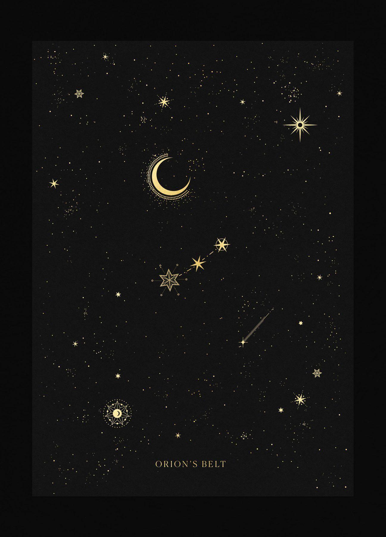 Photo of Orion's Belt Constellation