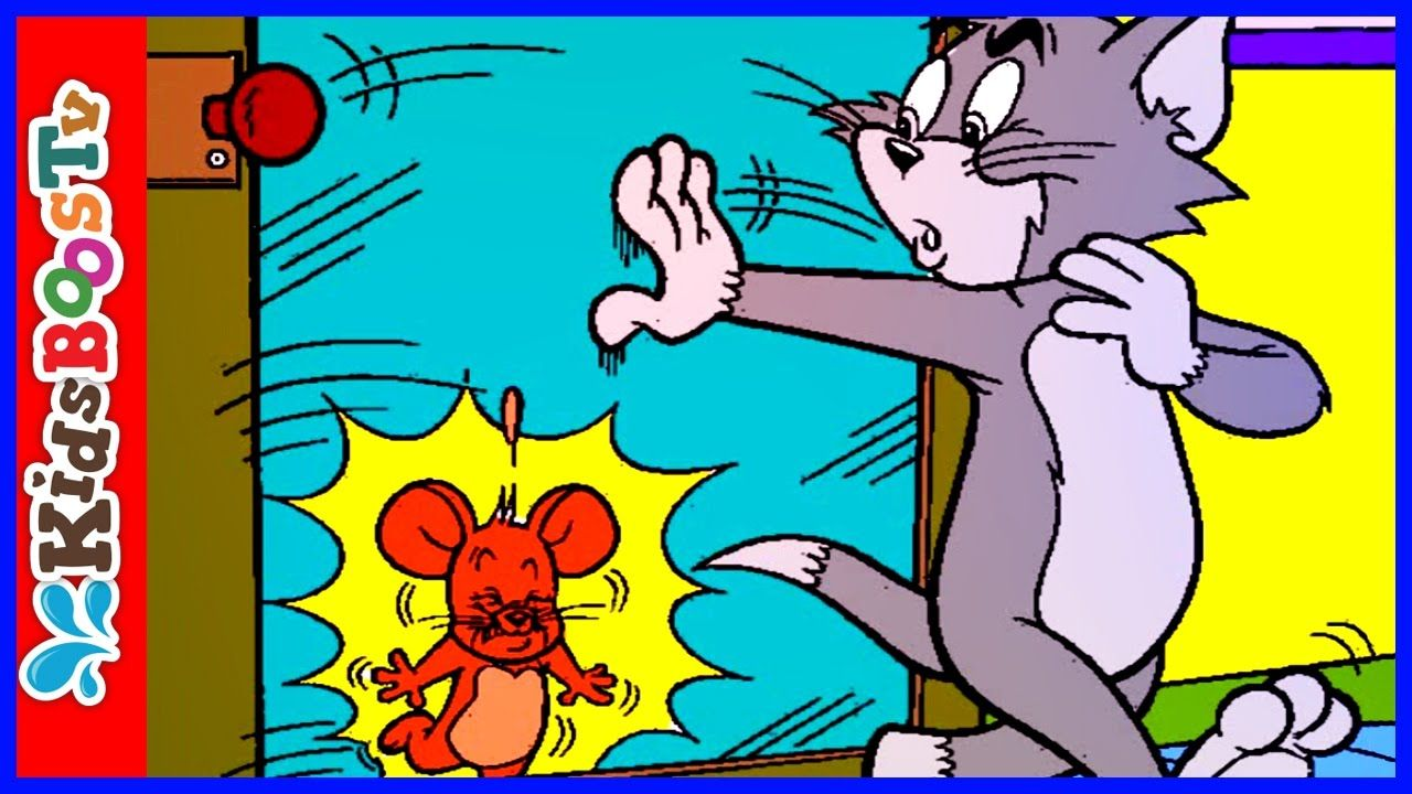 Tom and Jerry Online Coloring Page For Kids Learn Drawing Colors ...