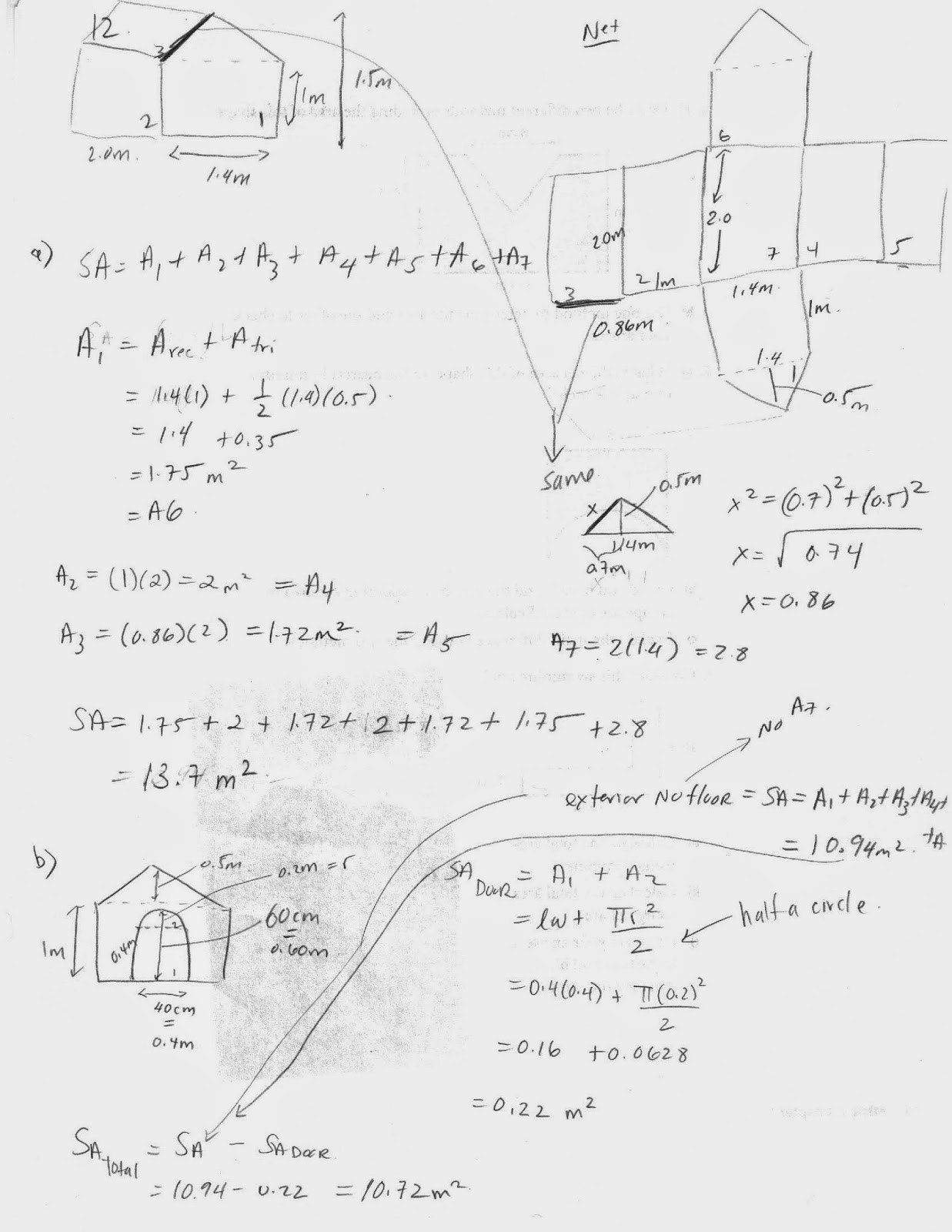 hight resolution of Calculating Surface Area Worksheet   Printable Worksheets and Activities  for Teachers