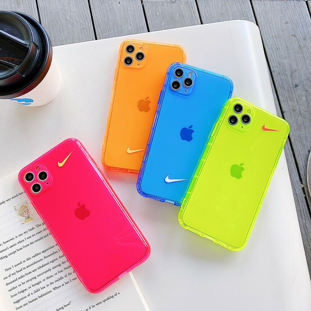 Colour fashion originality nike clear cover for iphone 7