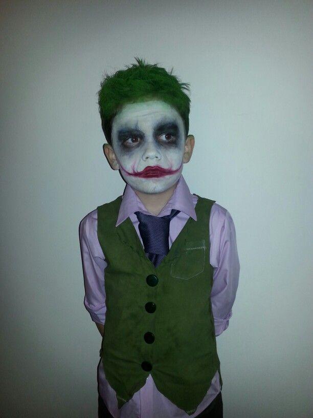 Homemade The Joker Halloween Costume Joker Halloween Costume Kids Joker Costume Boy Halloween Costumes