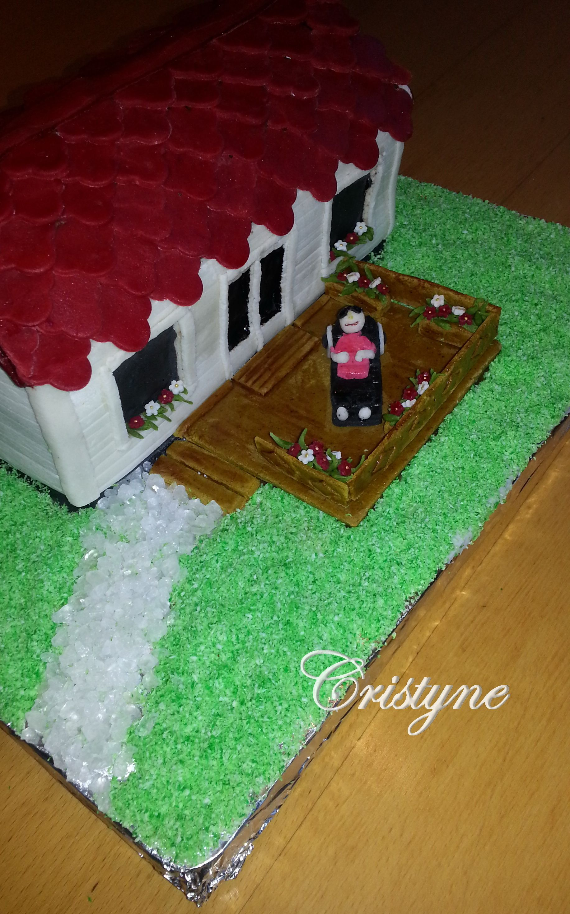 Mobilház torta 2.