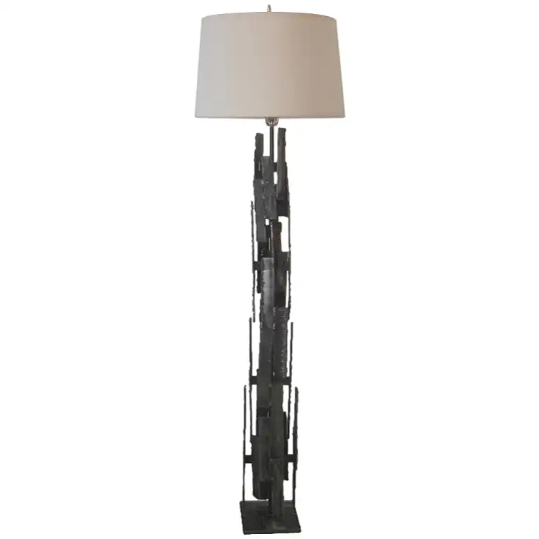 For Sale on 1stdibs Outstanding Brutalist floor lamp