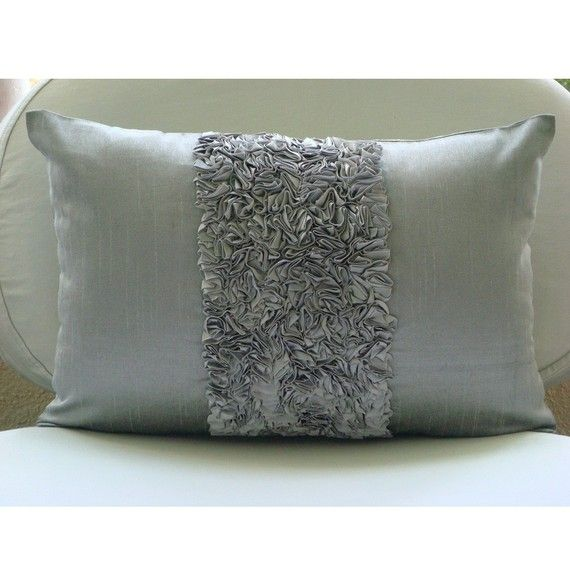 Decorative Oblong Lumbar Rectangle Pillow Covers Accent Pillow