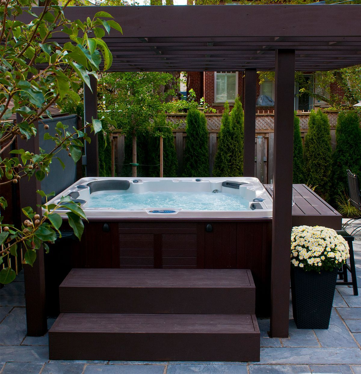 Hot Tubs Hot Tub Landscaping Hot Tub Backyard Hot Tub Outdoor