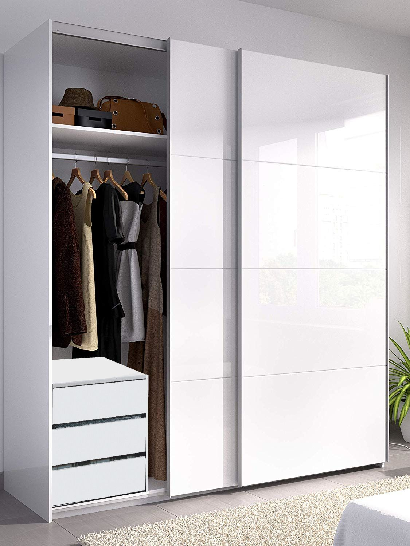 Large Sliding Door Wardrobe Wardrobe Interior Design Bedroom Closet Design Sliding Door Wardrobe Designs