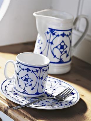 Blau-weißes Geschirr mit Tradition | Indische, Geschirr und Blau