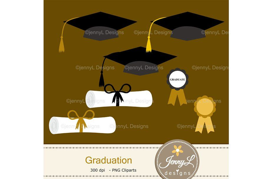 Graduation Digital Papers Clipart In 2020 Digital Background Paper Clip Art Digital Paper