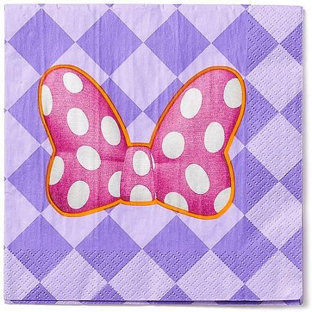 Minnie Mouse Bow Tique Party Paper Lunch Napkins 16ct Minnie
