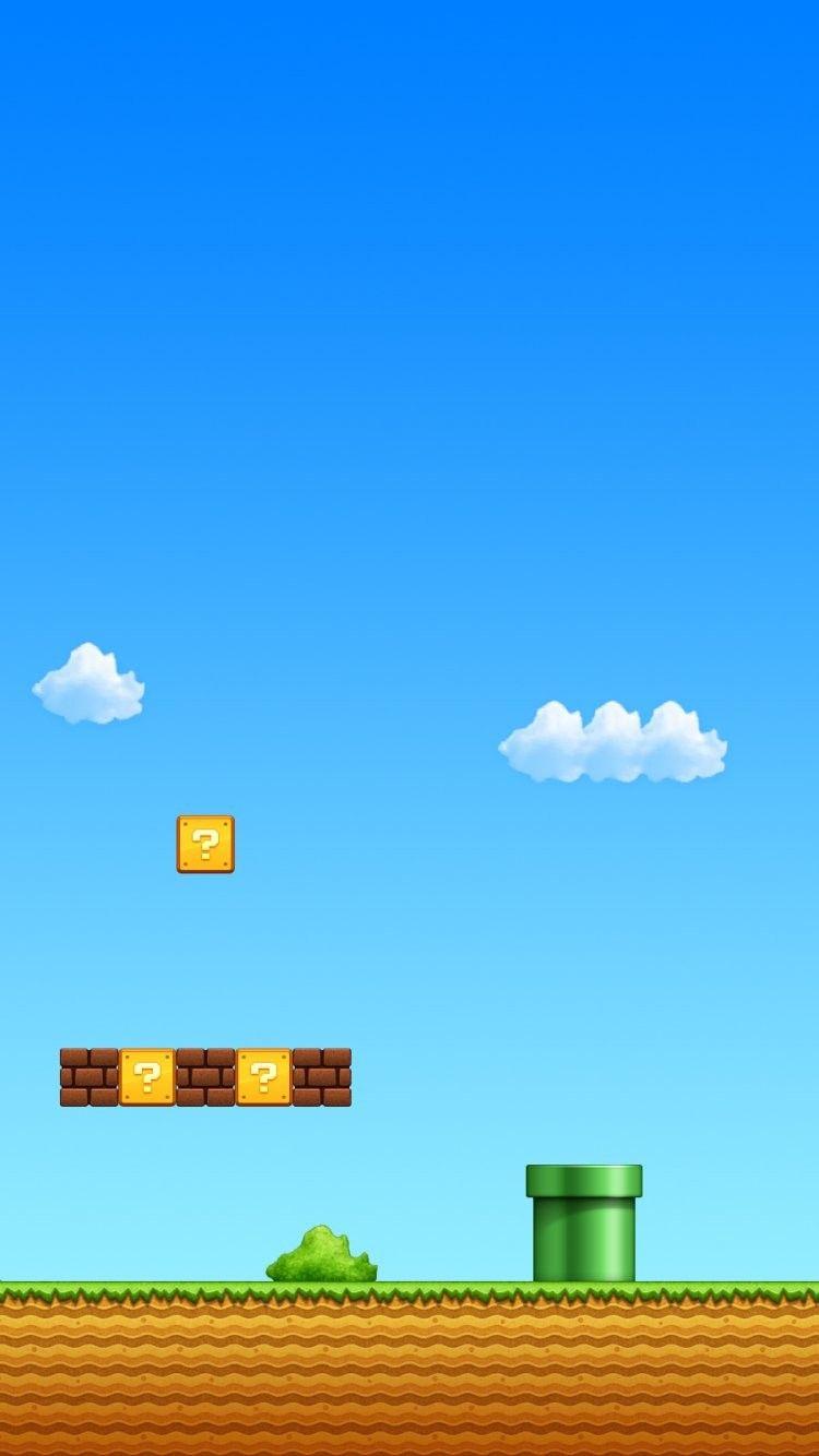 Super Mario Iphone Wallpapers Wallpaperpulse 壁紙ダウンロード