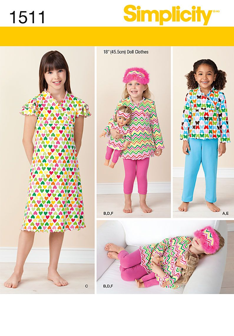 Simplicity Pajama Patterns Cool Inspiration Ideas
