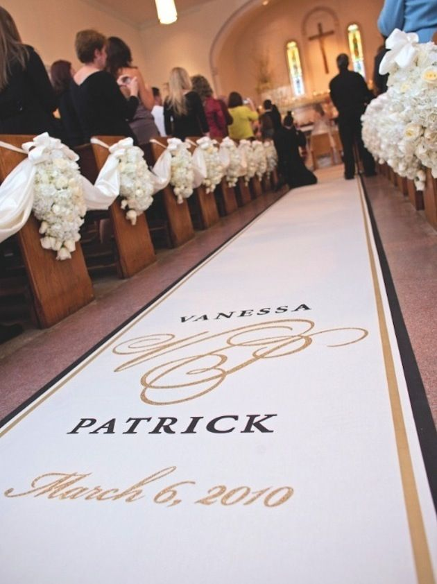 The Massive Impact Of Customized Aisle Runners Wedding Ceremony