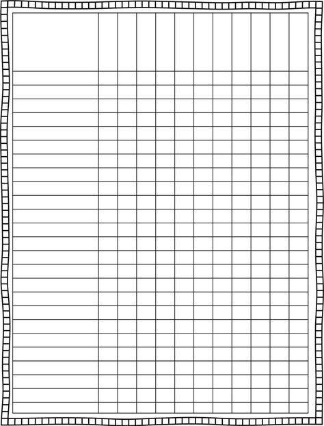Classroom Schedule Template for Teachers Finally, a cute lesson