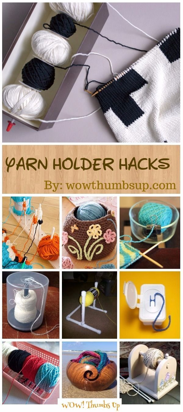 Yarn Holder Hacks Every Knitter Loves to Know #diyyarnholder Yarn Holder Hacks Every Knitter Loves to Know #diyyarnholder