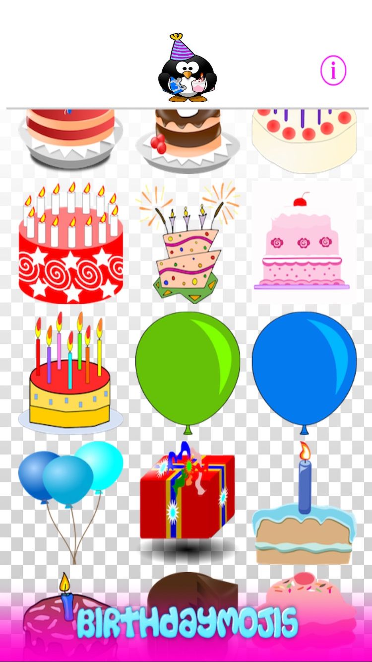 BirthdayMojis App Is The Best Collection Of New Birthday Themed Emojis Available Anywhere Ultimate Emoji Keyboard Wishes To