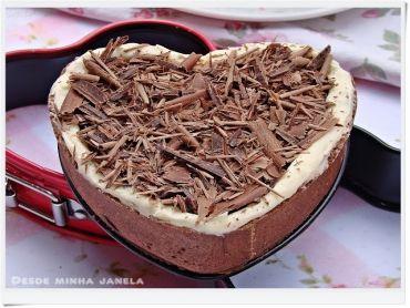 Tortinhas de coco e chocolate