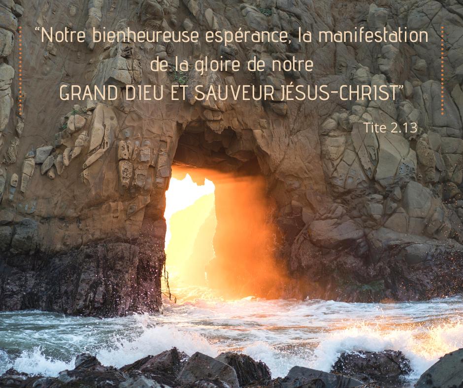 La Bible Verset Illustre Tite 2 13 Versets Chretiens Jesus Christ La Bible