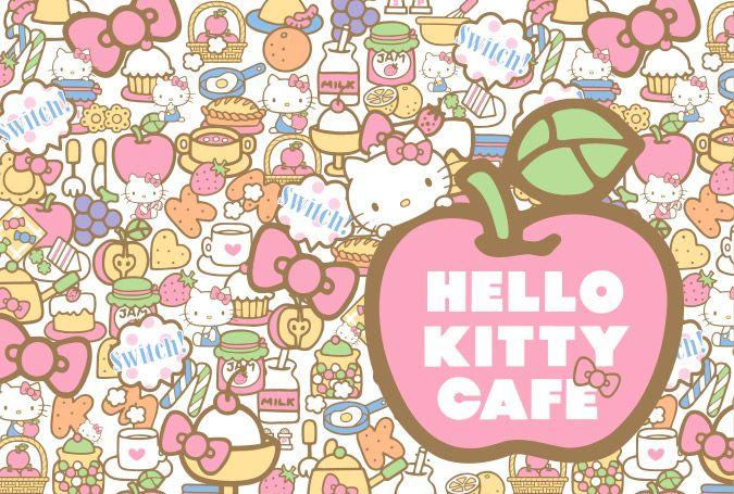Hello Kitty Café ♪───O(≧∇≦)O────♪