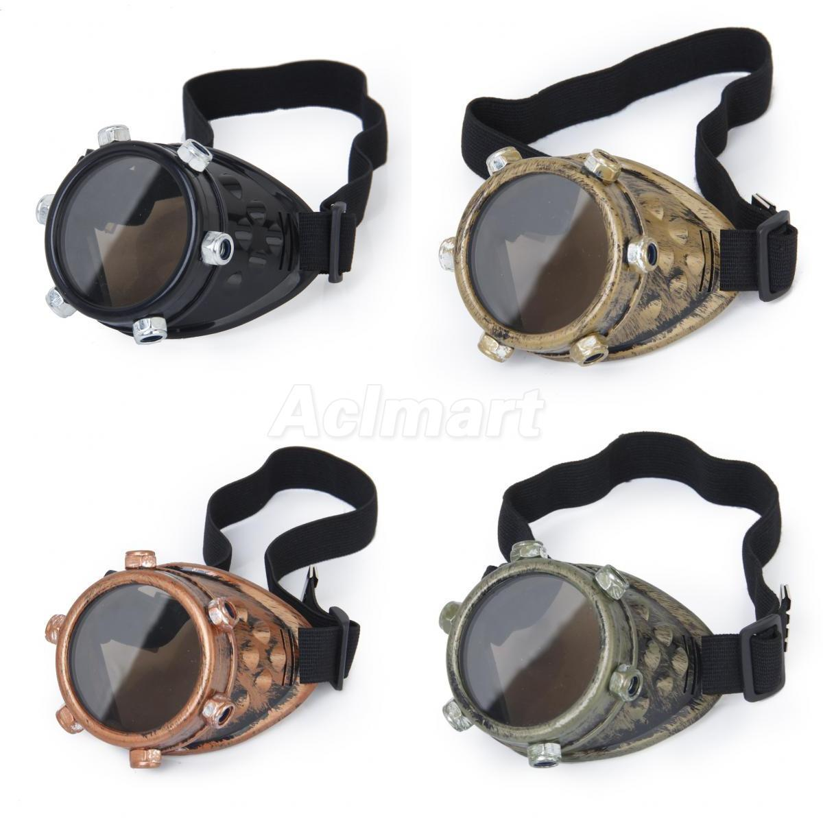 How to Make Cybergoth Goggles photo