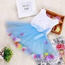 Resultado de imagen para vestidos de bebes verano azul