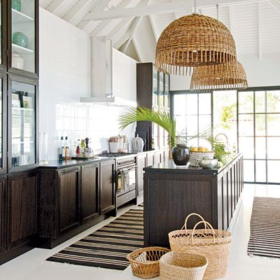 nice kitchen, filled with light